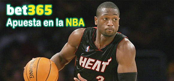 Regístrate en Bet365 y apuesta en la NBA