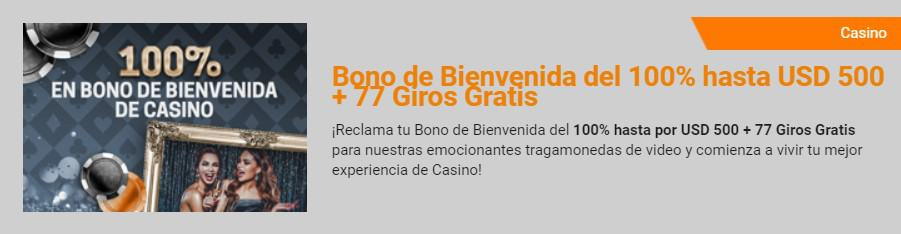 Rivalo Casino Bono de Bienvenida