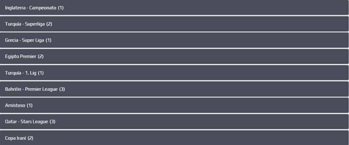 categorías de apuestas de fútbol netbet