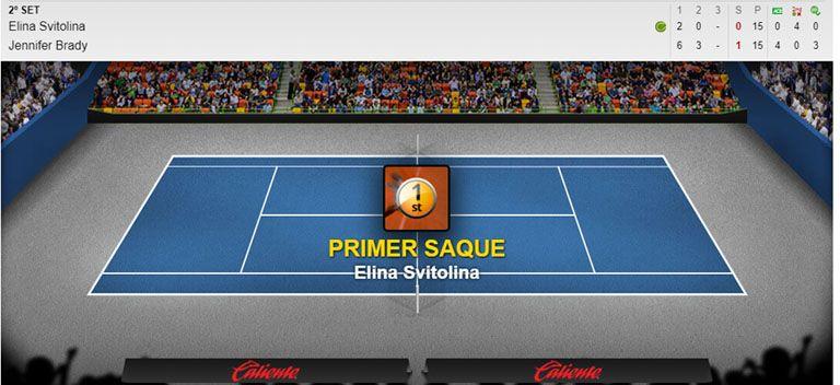 Apuestas en vivo tenis