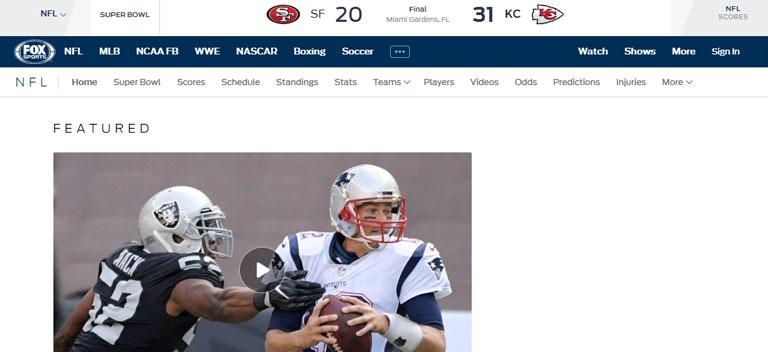 NFL FOX Sports