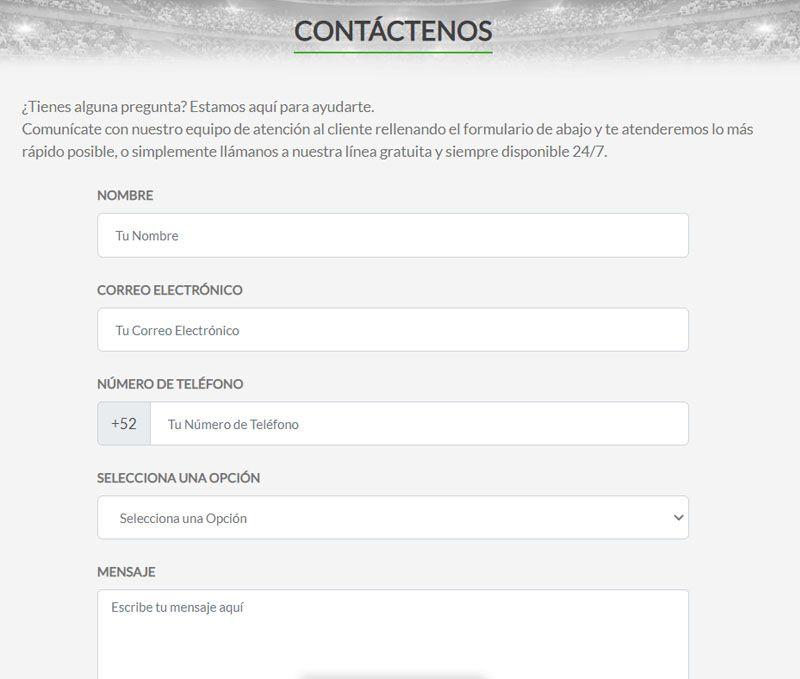 Contacto instabet